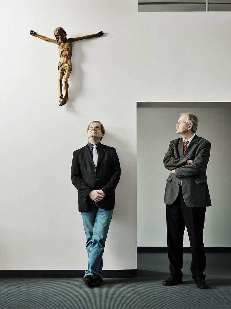 Wolfram Friedrichs und Thomas Begrich, Kirche in der Finanzkrise