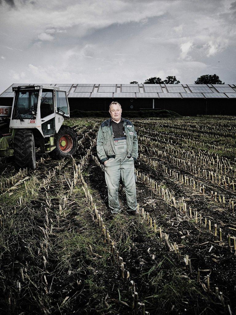 Heinrich Schäfer, Landwirt