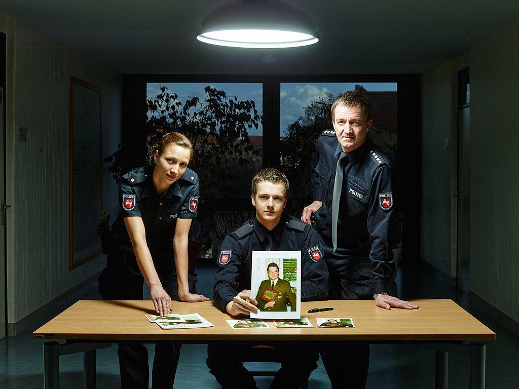 Familie Deutschlaender - drei Generationen bei der Polizei