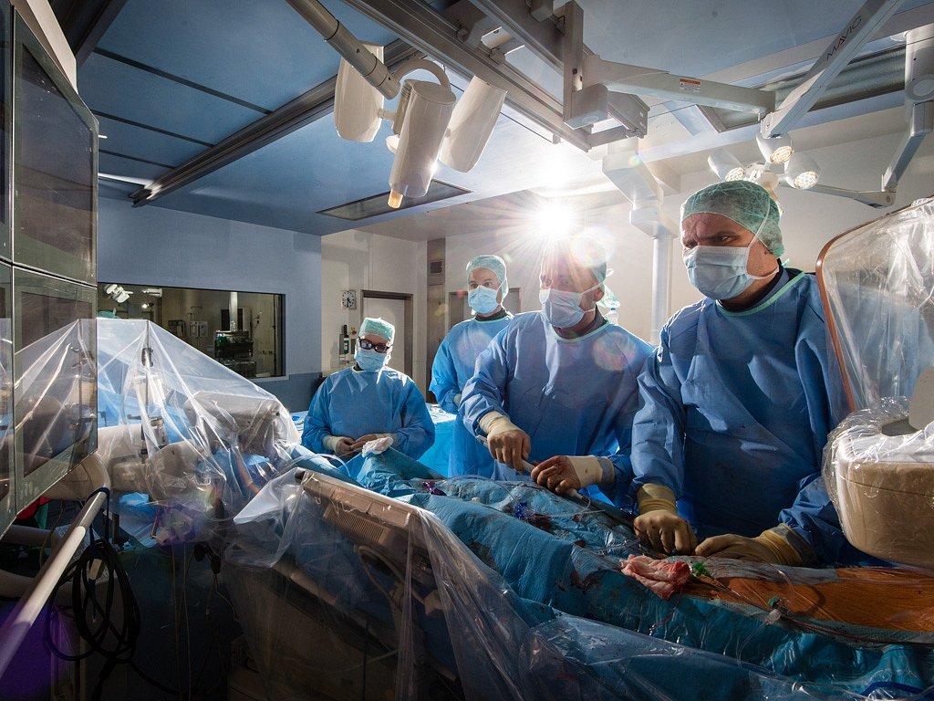 Herzklappenimplantation, UKE Hamburg