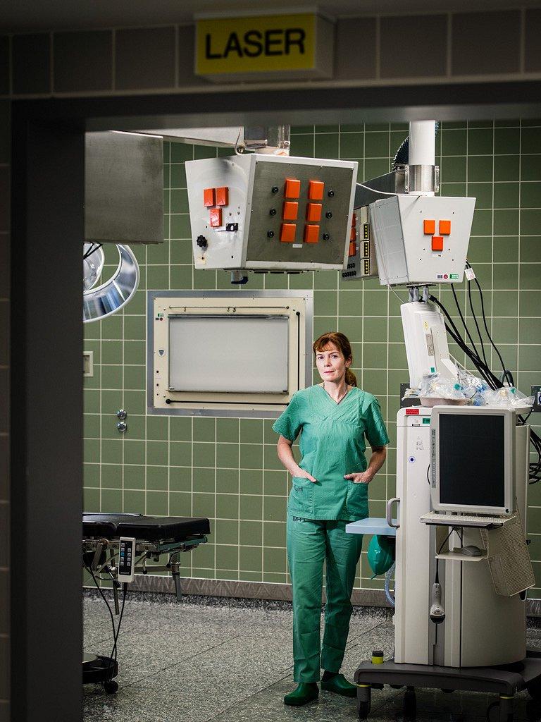 Dr. Ina Carolin Ennker, Chirurgie